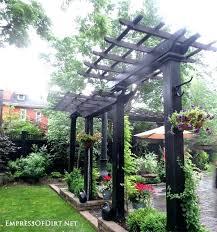 outdoor garden structures ideas ways to create vertical interest in the with arbors trellis obelisks distinctive
