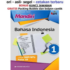 Halo bertemu lagi dengan materikelas.com yang kali ini akan kembali memberikan kunci jawaban buku paket bahasa indonesia kelas 12 semester 1 untuk halaman 9 sampai halaman 22 (kurtilas). Jual Buku Mandiri Erlangga Bahasa Indonesia Kelas 7 Smp Kunci Jawaban Kab Tangerang Sahabat Buku Anak Tokopedia