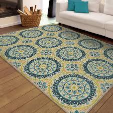 orian rugs indoor outdoor twirling medallions multi area rug com