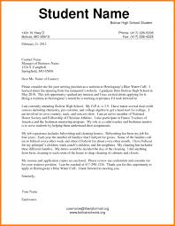 Example Cover Letter For Students Images Letter Format Formal