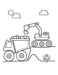 Kleurplaat Tractor Met Aanhanger Stickerop Traktor Met Aanhanger