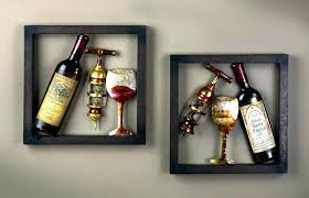 entertaining wine metal wall art j4899184 wine bottle metal wall art