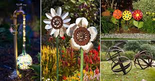 31 diy garden ornaments projects to beautify your garden