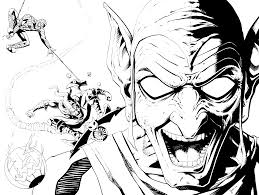 Green goblin coloring pages free these pictures of this page are about:goblin coloring pages. Green Goblin And Webhead By Kentarcher On Deviantart