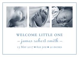 Baby Announcement Cards Welcome Baby Boy Announcement Cards 50