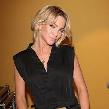 She has blue color eye and blonde color hair. Sarah Harding Planning Own Funeral And Picks Out Hilarious Sweary Message For Gravestone Daily Record