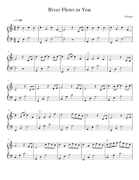 Download and print in pdf or midi free sheet music for river flows in you by yiruma arranged by veeroonaa for piano (solo) River Flows In You Sheet Music For Piano Solo Musescore Com