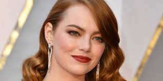 emma stone os 2017 make up