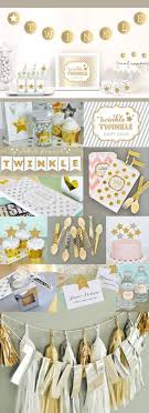 Gold Birthday Decorations Twinkle Twinkle Baby Shower Favor Bags Pink And Gold Birthday