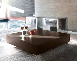contemporary wood coffee table home