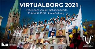 Walpurgis Night in Borggården becomes Virtualborg at home – with hat  donning ceremony, spring-themed songs and speeches - Linköpings  studentsångare