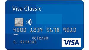 Registration Card Visa Cards Gift