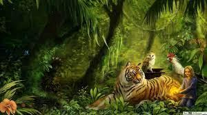 magic jungle forest HD wallpaper ...