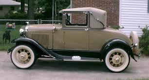 mafca 1931 vehicles 1931 sport coupe