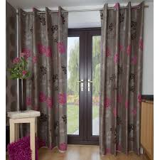 curtains curtains patio door awesome thermal curtains uk pink and grey shower curtain
