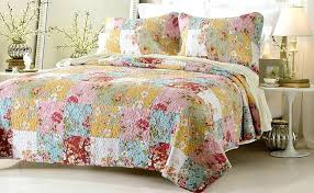 retro bedspreads colorful comforter sets queen lodge cheerful touch quilt comforters theme quilts and