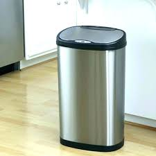 metal kitchen trash can metal kitchen trash can black kitchen trash cans large black kitchen trash