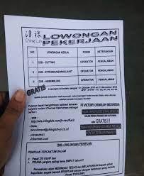Lowongan pekerjaan di cingluh cikupa. Pt Victory Chingluh Indonesia Membuka Banyak Lowongan Check Disini Info Nya Serangid