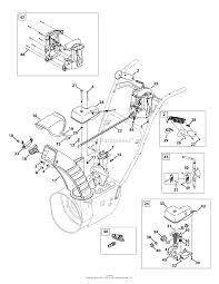 Mtd 31ah55lh704 2012 parts diagram for chute 4 way control non