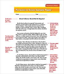 an example of a persuasive essay persuasive essay template 9 free samples examples format free