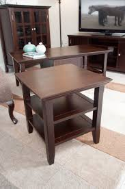 Natural Getaway Through Rustic Coffee And End Table Sets