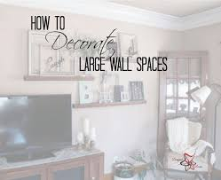 How to Decorate Large Wall Spaces- Decorating to scale