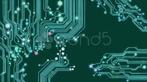 Printed Circuit Background Loop Hi Res Video 8578246