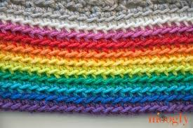 Rainbow Baby Blanket Crochet Pattern