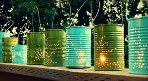 backyard party lighting ideas. perforated can lanterns backyard party lighting ideas i