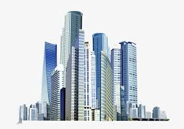 Image result for clip art of highrise buildings