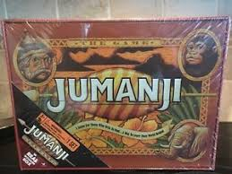 Wooden Jumanji Board Game NEW REAL WOOD BOX JUMANJI BOARD GAME CARDINAL EDITION WOODEN CASE 14