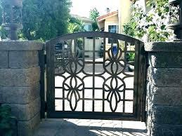wrought iron garden gate wolf ca gates edinburgh custom house