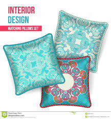 Decorative Pillow Set Set Of Decorative Pillow Royalty Free Stock Photos Image 36154718