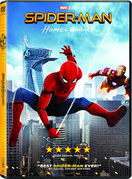 spider man homecoming dvd