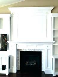 fireplace surround fireplace mantel make a fireplace surround how to make a fireplace mantel built