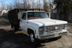 1975 Chevy 1 ton Dump Truck w/ Hydraulic Tommy Lift, Runs great ...