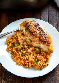 puerto rican rice and beans with chicken. Delighful With Puerto Rican Chicken And Rice Intended And Beans With R