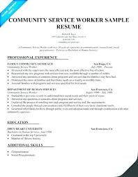Sample Of Social Worker Resume Amazing Social Work Resume Sample Free Professional Resume Templates