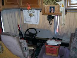 motorhome front window shades curtains home design ideas and pictures living old windshield blackout