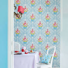 Shabby Chic Bedroom Wallpaper All Over Floral Wallpaper By Fifty One Percent