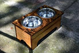 custom dog bowl personalized stands bowls uk logo