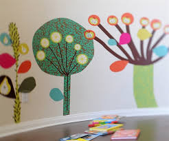 colorful wall art for nursery