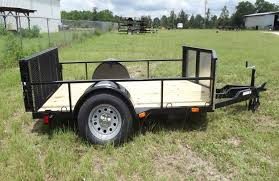 5 x 8 single axle motorcycle trailer
