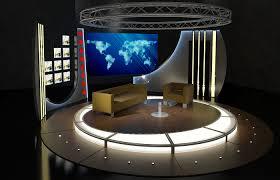 tv studio furniture. Unique Studio Virtual TV Studio Chat Set 19 And Tv Furniture A