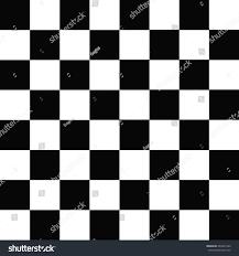 Checkered Design Simple Modern Checkered Pattern Black White Stock Vector 442831360