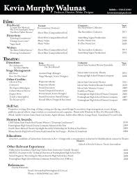 Director Resume Format – Promisedesign