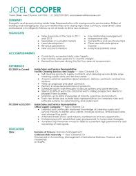 Sales Representative Skills Resume Sample Inside Sales Representative Resume Sample Maintenance Janitorial 14