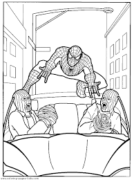 Pictures Of Spiderman To Color Spider Man Coloring Pages 37 Free
