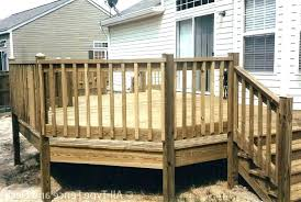 how to make deck railing large size of designs outdoor ideas pictures decking simple diy wood