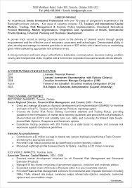 sample resume for investment banking investment executive sample resume podarki co